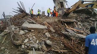 Lagos building collapse kills five people