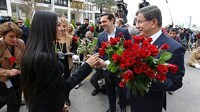 Journalists accept Turkey MP's roses days after paper takeover