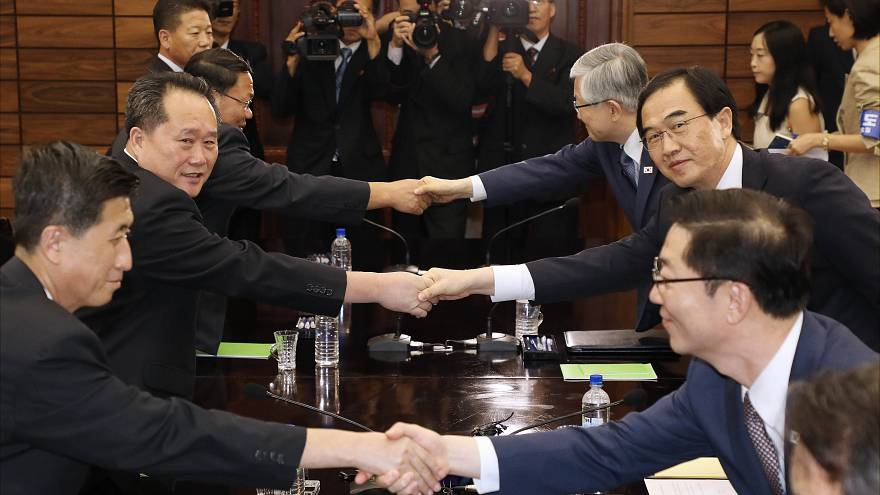 North and South Korea Hold Talks For A Third Inter-Korea Summit
