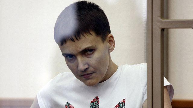 Последнее слово Надежды Савченко и митинг у посольства России в Киеве