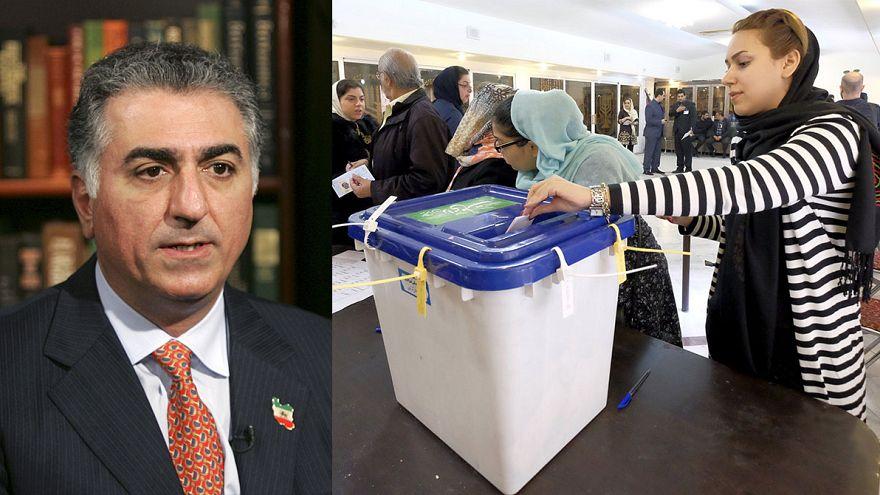 گفتگو با رضا پهلوی درباره انتخابات ایران