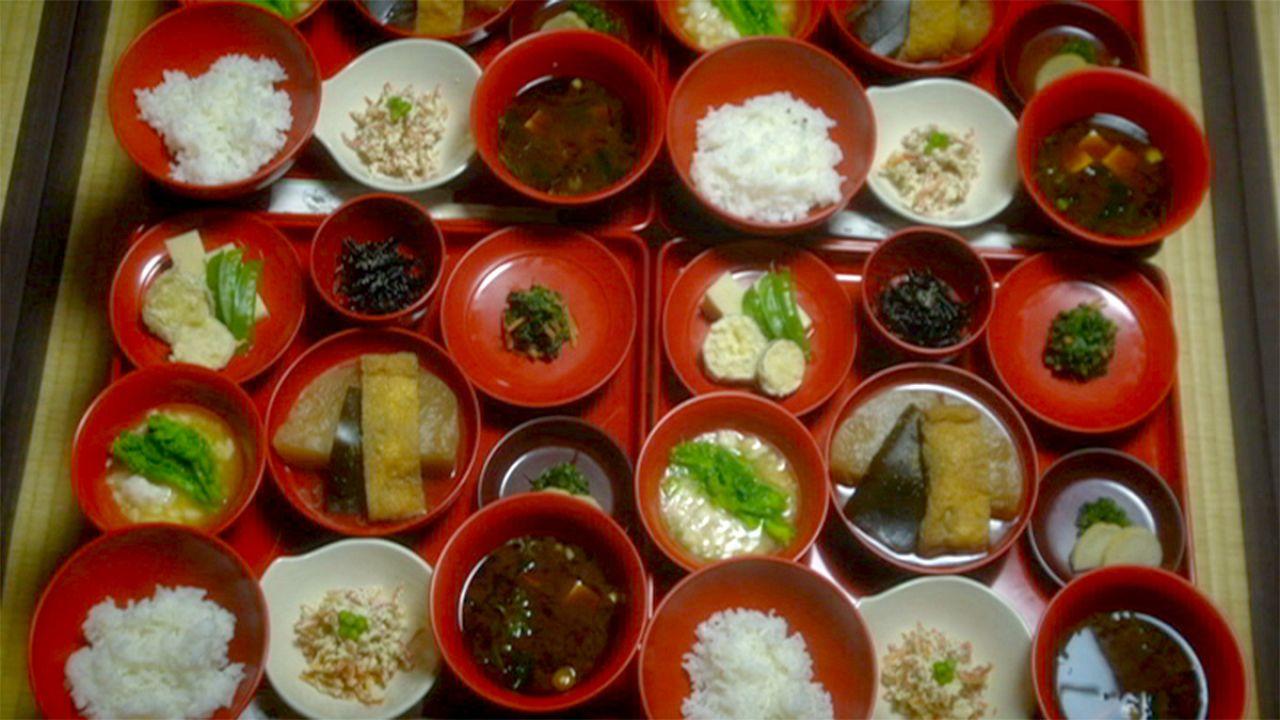 Postcards From Japan Enjoying A Zen Buddhist Meal Euronews