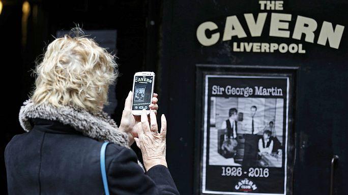 George Martin, le producteur des Beatles, est décédé.
