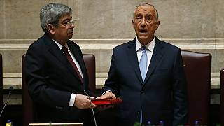 Portugal's new centre-right president sworn in