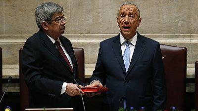 Rebelo de Sousa inicia su mandato como presidente luso pidiendo transparencia financiera