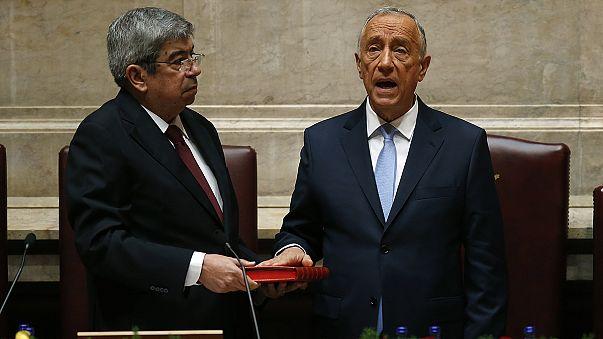 Portugal's new centre-right president sworn in
