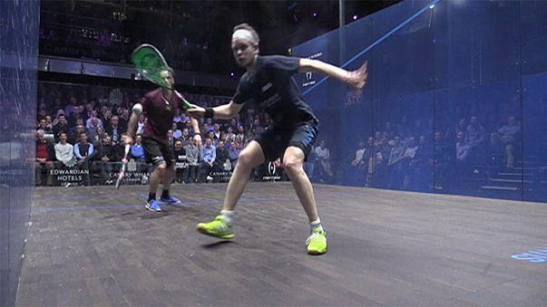 Squash: Was für ein Ballwechsel