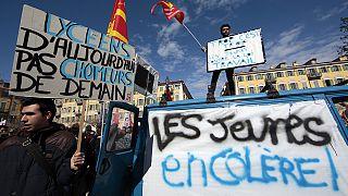 Frankreich: landesweite Proteste gegen Arbeitsrechtsreform