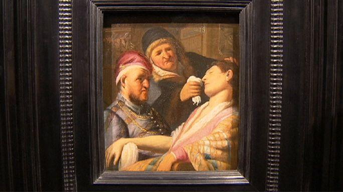 """Peinture : un """"Rembrandt"""" longtemps disparu se donne à voir Maastricht"""