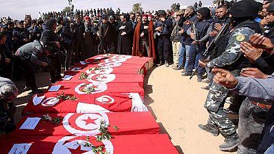 Tunisie : funérailles des victimes de Ben Guerdane