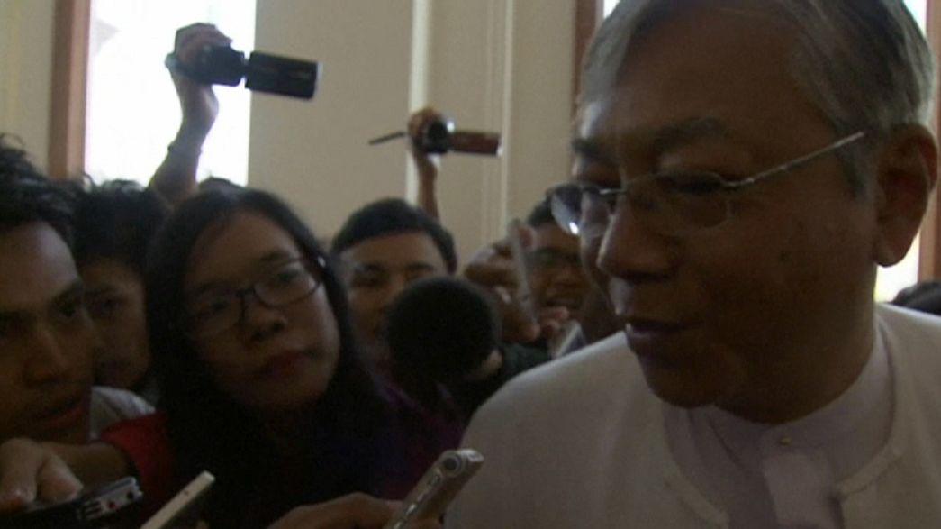 Un colaborador de Aung San Suu Kyi, nominado a la Presidencia de Myanmar
