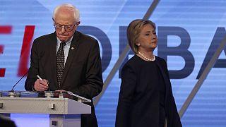 Clash in Miami: Sanders more aggressive, Clinton the better debater