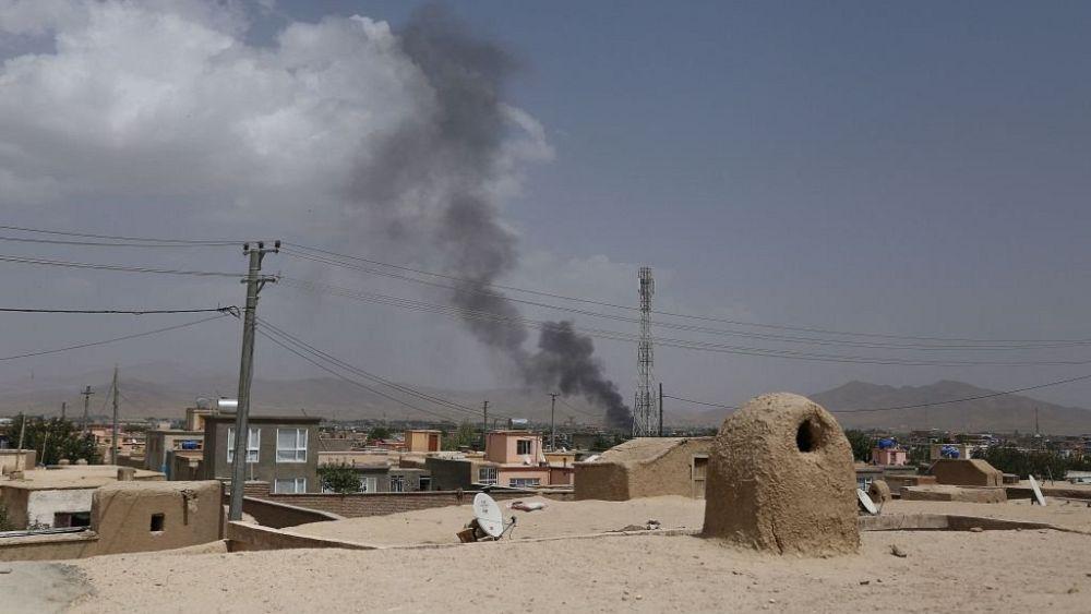 Brazen four-day Taliban assault on key city kills 120