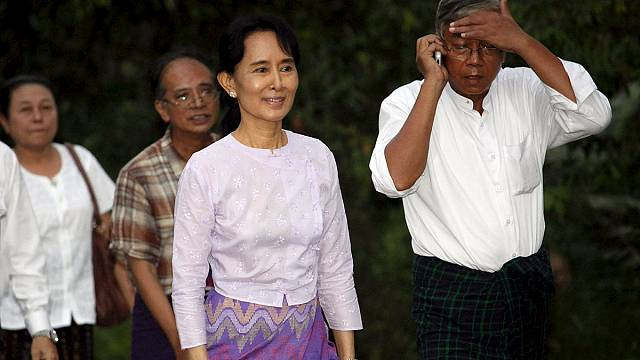 Aung San Suu Kyi ruled out as Myanmar's next president