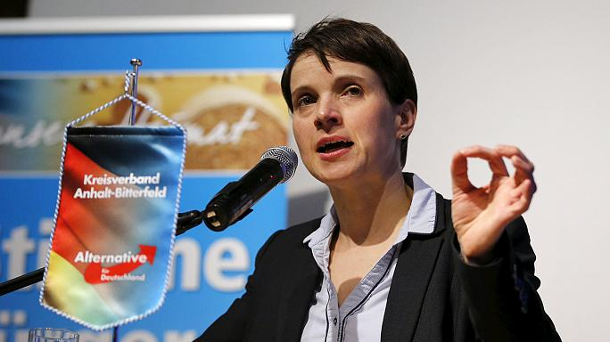 German anti-immigrant party eyes regional poll breakthrough