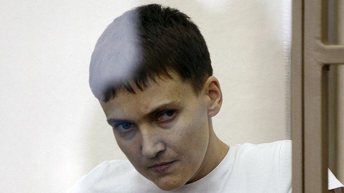Ukrainian pilot held in Russia ends thirst strike