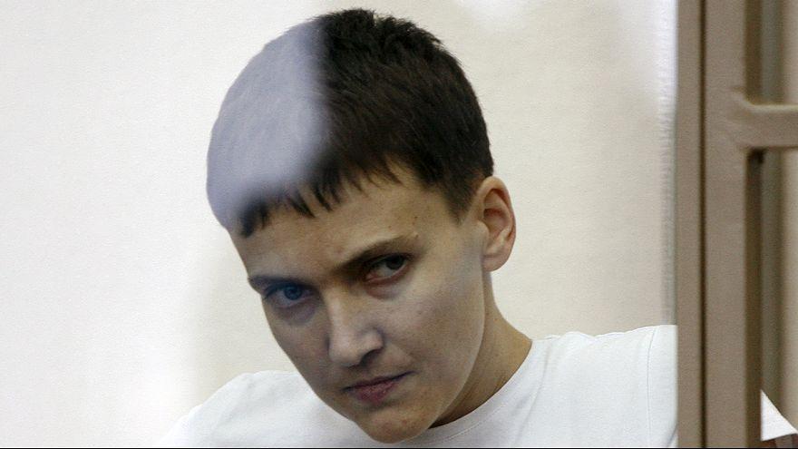 Надежда Савченко прекратила сухую голодовку. Киев готов ее выменять