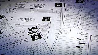 Los documentos filtrados del Dáesh, una mina de oro para las autoridades