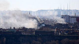 پایان عملیات ارتش ترکیه در دیاربکر