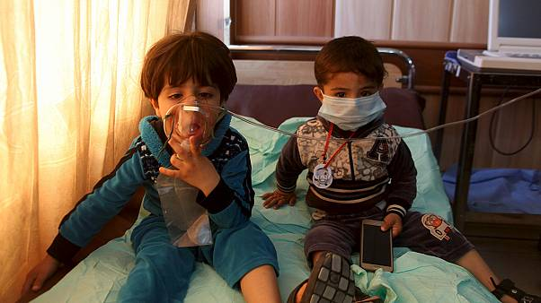 ISIL chemical rockets harm dozens of civilians
