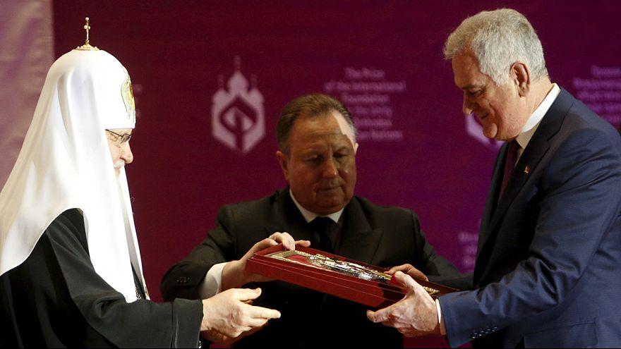 Putin Sırp Cumhurbaşkanı Nikoliç'i ağırlıyor