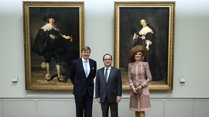 زيارة ملك وملكة هولندا إلى فرنسا
