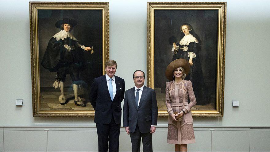 Kral Wilhelm Alexander'dan Paris'e Rembrandt gezisi