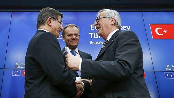 Migrações: Ministros europeus do Interior questionam plano UE-Turquia