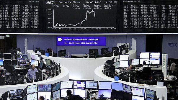Драги обрушил биржи Европы