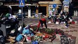 Greve acumula 4 mil toneladas de lixo nas ruas de Málaga