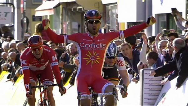 Paris-Nice: Bouhanni wins stage four