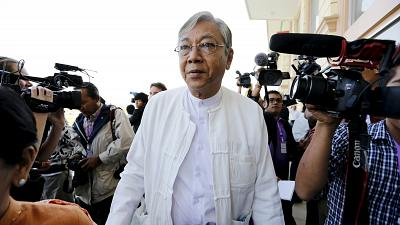 Aung San Suu Kyi's confidant for Myanmar presidency