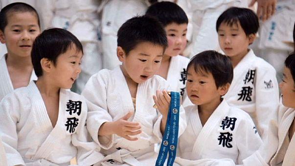 El yudo como terapia para superar las secuelas del tsunami de 2011 en Japón