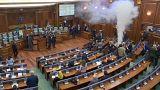 Kosovo: Körperscanner für Politiker soll Tränengasattacken im Parlament verhindern