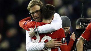 Triunfo del Liverpool ante el Manchester United y fructífera noche para el fútbol español en la Liga Europa