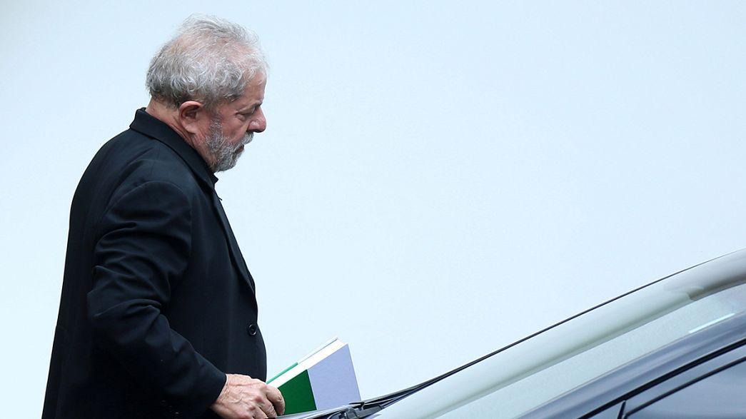 Brasiliens Ex-Präsident Lula droht Gefängnis