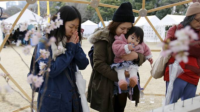 Five years on: Japan remembers tsunami and earthquake victims