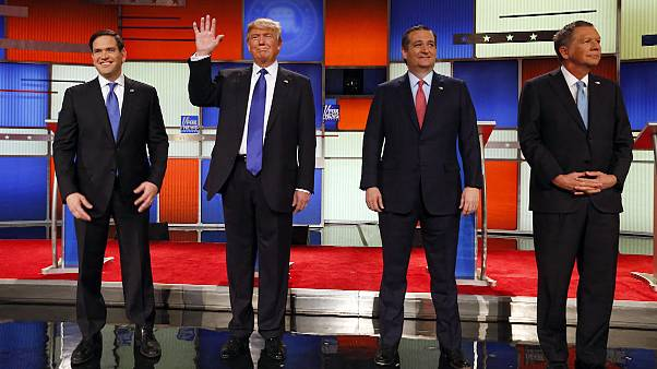 No personal insults in last Republican debate before next Super Tuesday