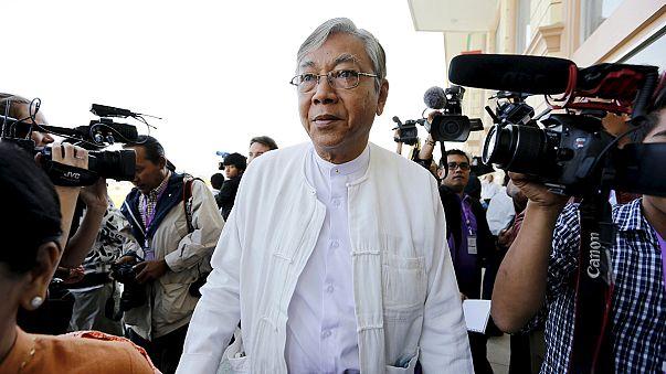 Braço-direito de Suu Kyi será o Presidente da Birmânia
