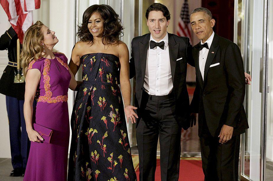 Obama oferece receção de luxo a Trudeau