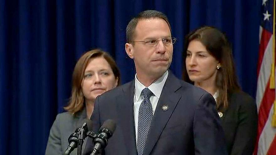 Pennsylvania Attorney General Josh Shapiro speaks about the grand jury repo