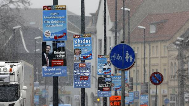 Anti-migrant AfD tipped for success in Germany's 'Super Sunday' elections