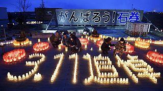 Ceremonies, silence mark 5th anniversary of Japan tsunami