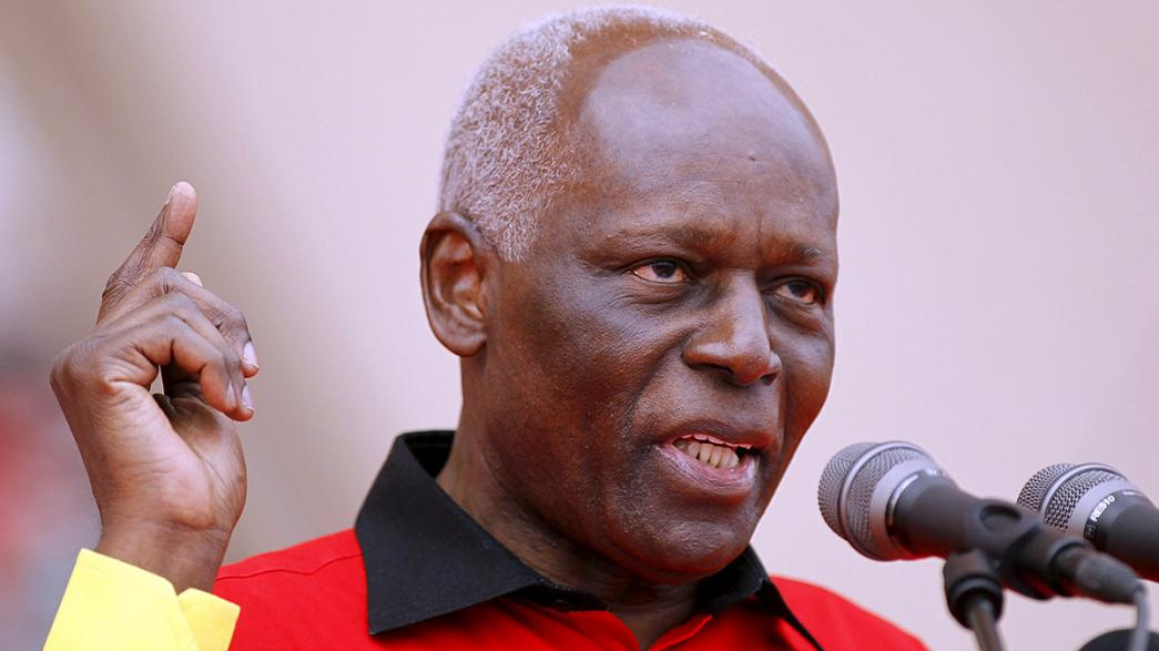 Angola's veteran President Dos Santos to step down in 2018