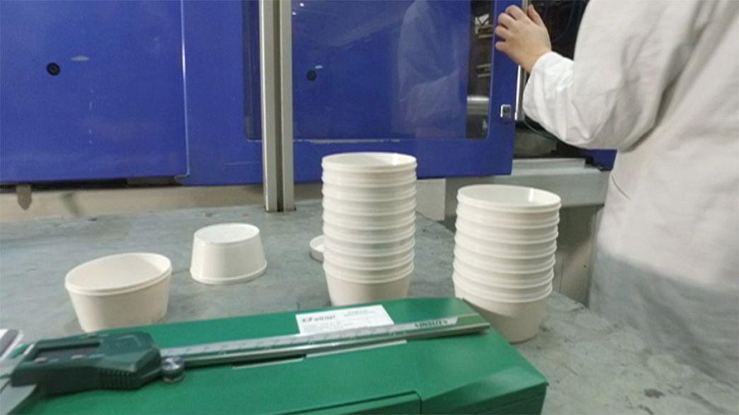 Takeaway: eco-friendly plastics