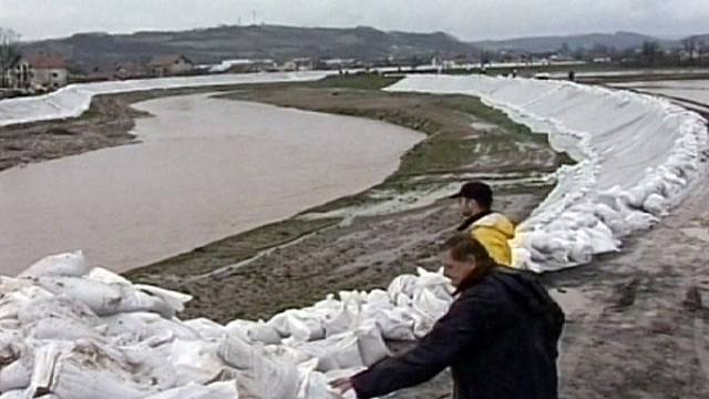 Serbie : niveau d'alerte maintenu face aux risques d'inondations