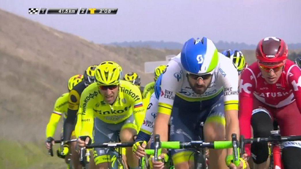 Ciclismo, Parigi-Nizza: a Lutsenko la 5a tappa, Matthews sempre in maglia gialla