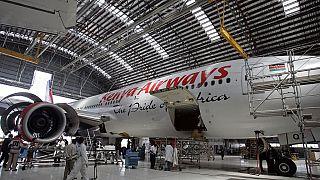 Kenya airways prévoit une hausse des bénéfices d'exploitations