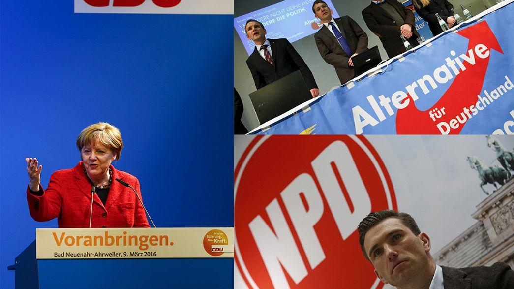Primer examen electoral a la política de inmigración de Merkel