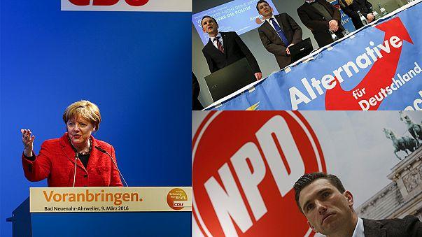 Domani atteso test elettorale per Angela Merkel